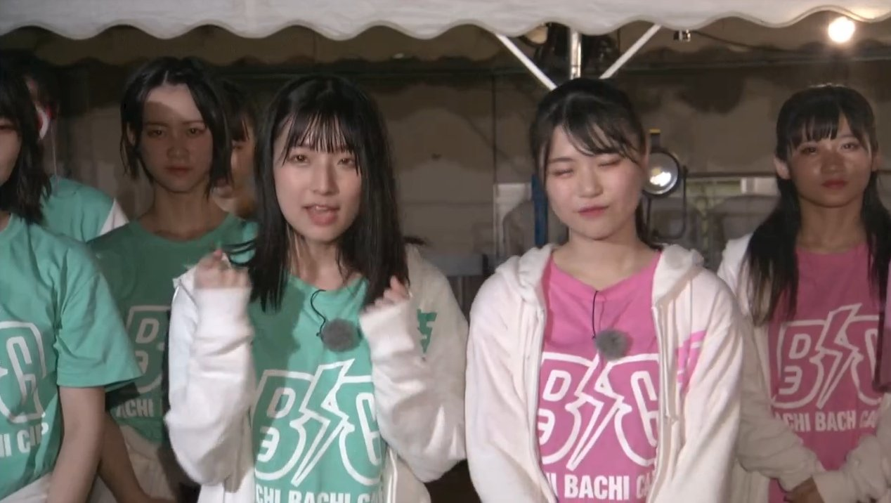 2019年8月18日新YNN NMB48 CHANNELで放送された「BACHI BACHI CAMP」の画像-2461
