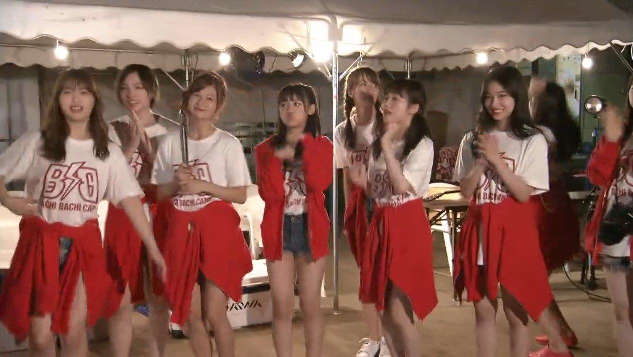 2019年8月18日新YNN NMB48 CHANNELで放送された「BACHI BACHI CAMP」の画像-2463
