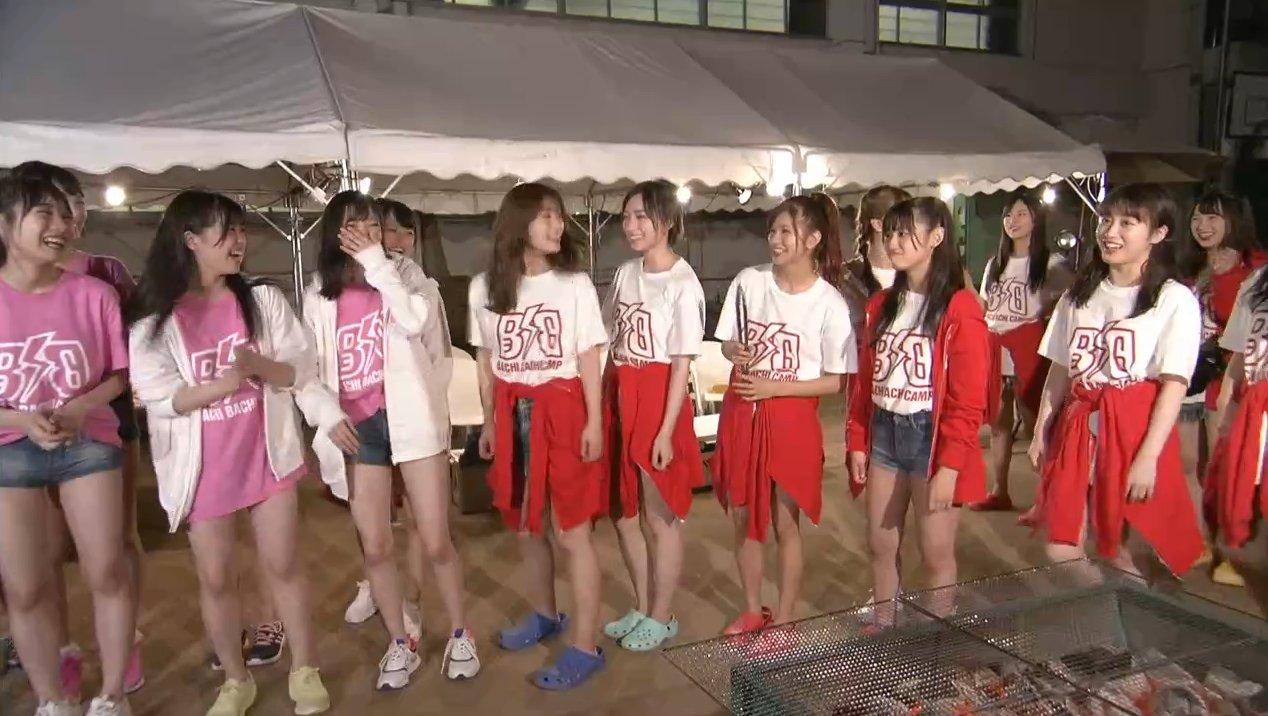 2019年8月18日新YNN NMB48 CHANNELで放送された「BACHI BACHI CAMP」の画像-2479