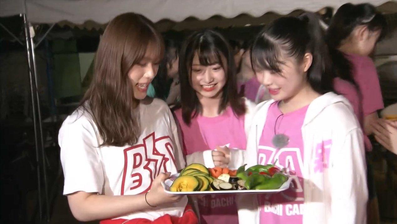 2019年8月18日新YNN NMB48 CHANNELで放送された「BACHI BACHI CAMP」の画像-2469