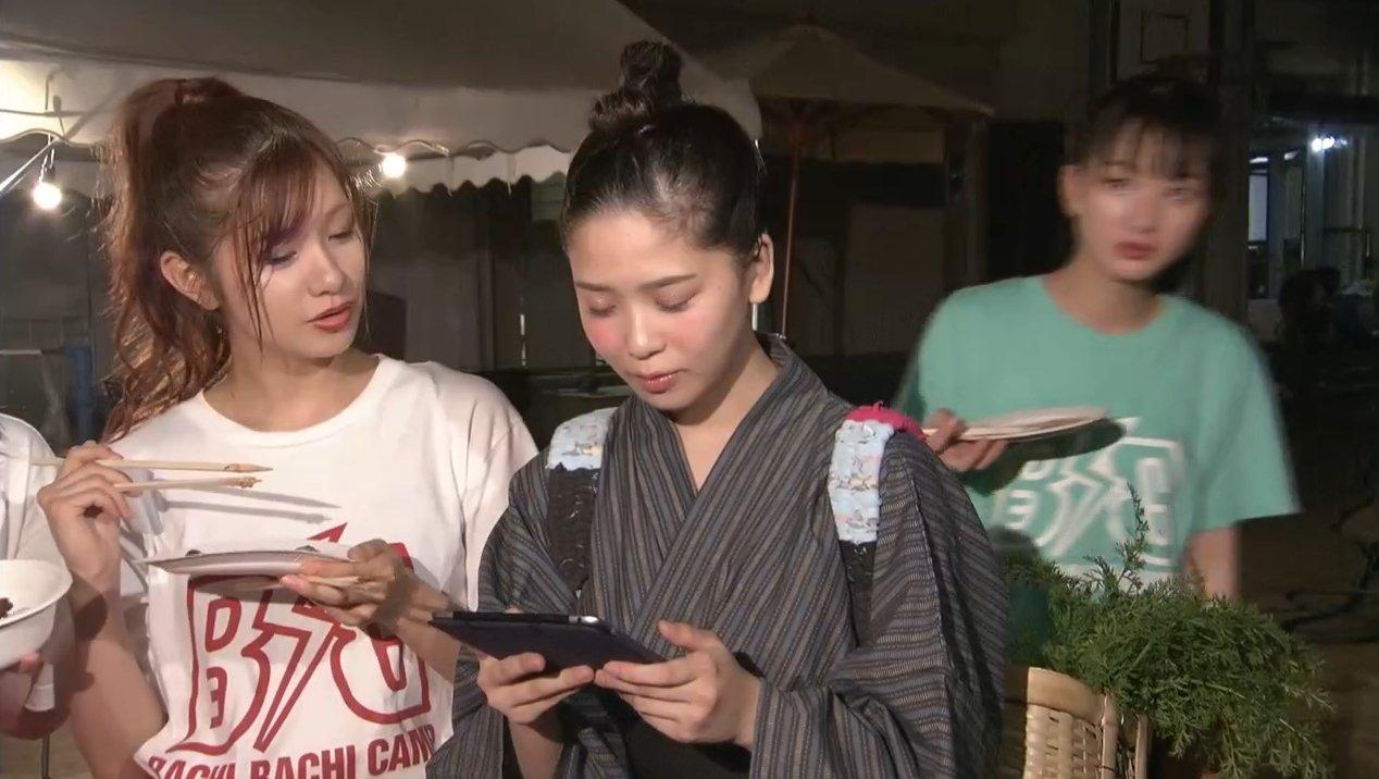 2019年8月18日新YNN NMB48 CHANNELで放送された「BACHI BACHI CAMP」の画像-2535