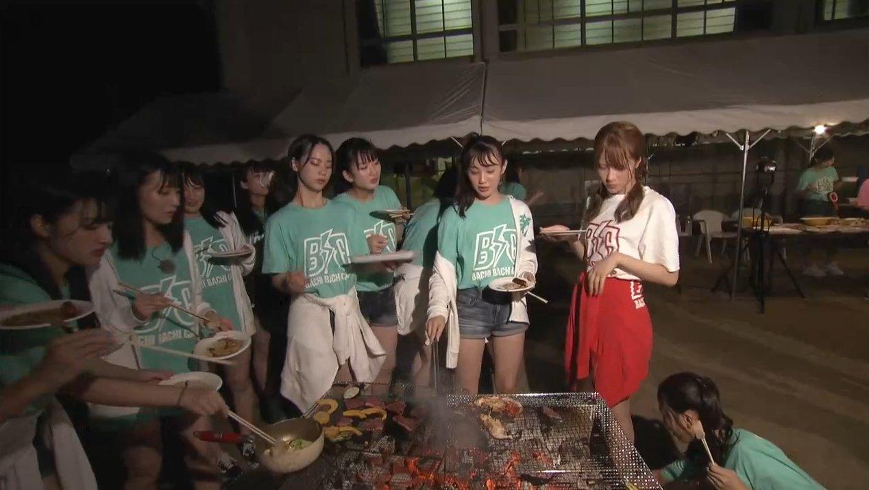 2019年8月18日新YNN NMB48 CHANNELで放送された「BACHI BACHI CAMP」の画像-2557