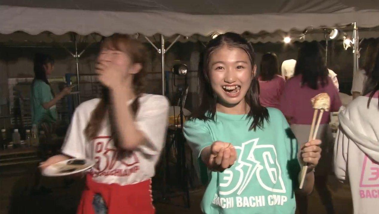 2019年8月18日新YNN NMB48 CHANNELで放送された「BACHI BACHI CAMP」の画像-2559