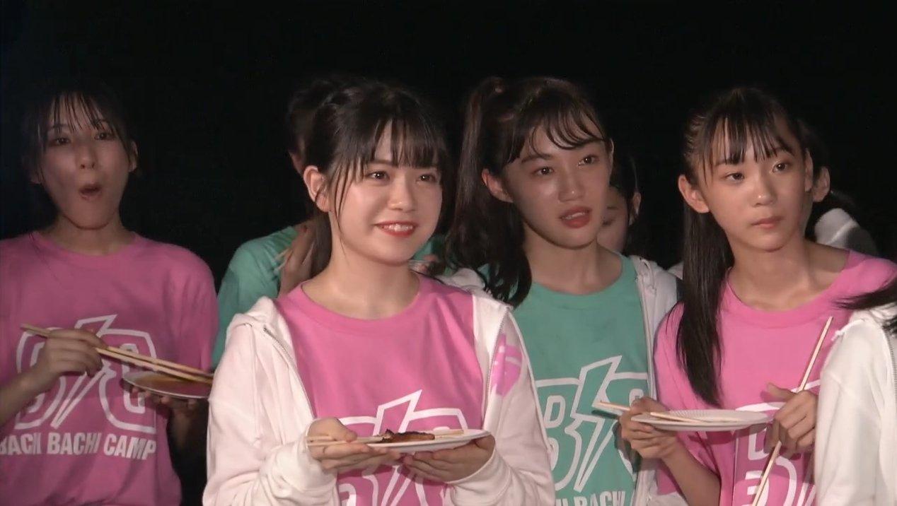 2019年8月18日新YNN NMB48 CHANNELで放送された「BACHI BACHI CAMP」の画像-2614