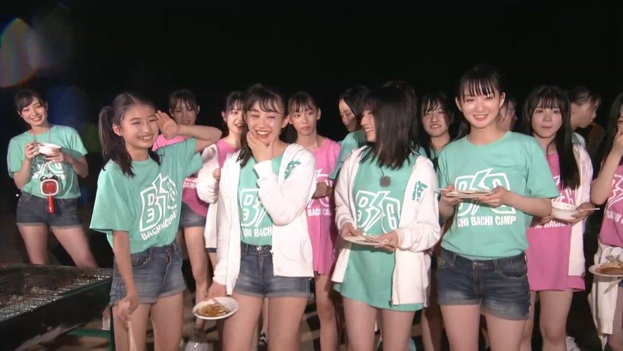 2019年8月18日新YNN NMB48 CHANNELで放送された「BACHI BACHI CAMP」の画像-2635
