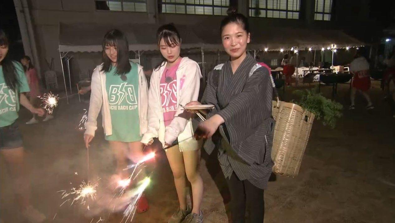2019年8月18日新YNN NMB48 CHANNELで放送された「BACHI BACHI CAMP」の画像-2656