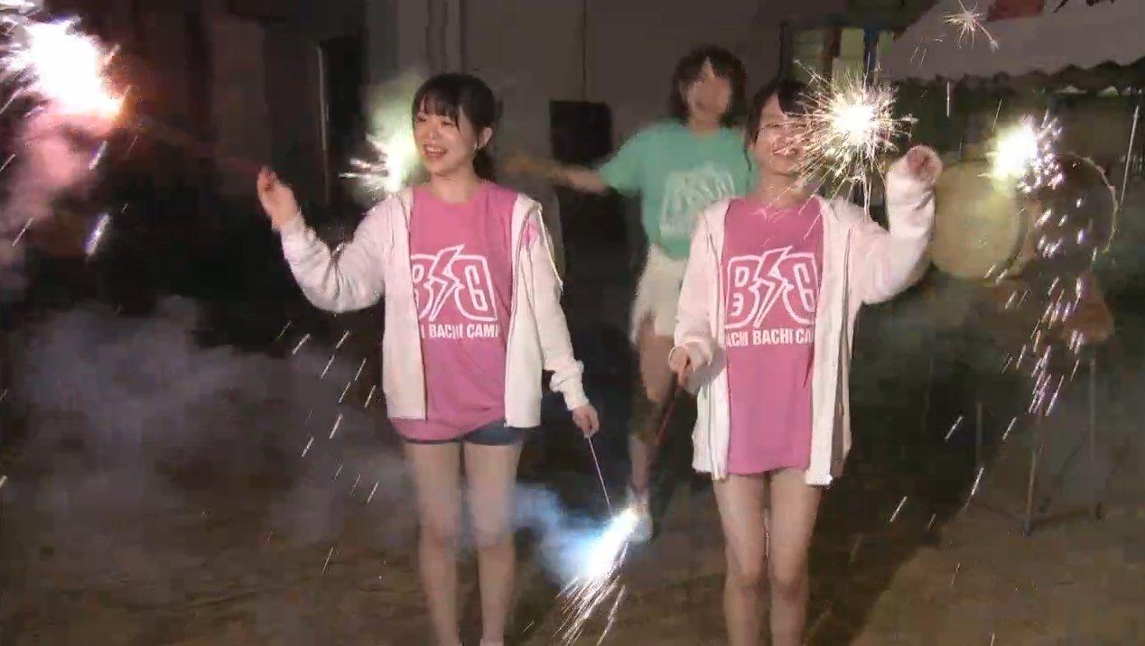 2019年8月18日新YNN NMB48 CHANNELで放送された「BACHI BACHI CAMP」の画像-2660