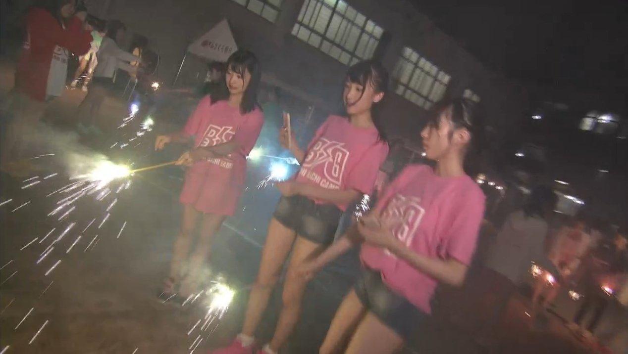 2019年8月18日新YNN NMB48 CHANNELで放送された「BACHI BACHI CAMP」の画像-2662