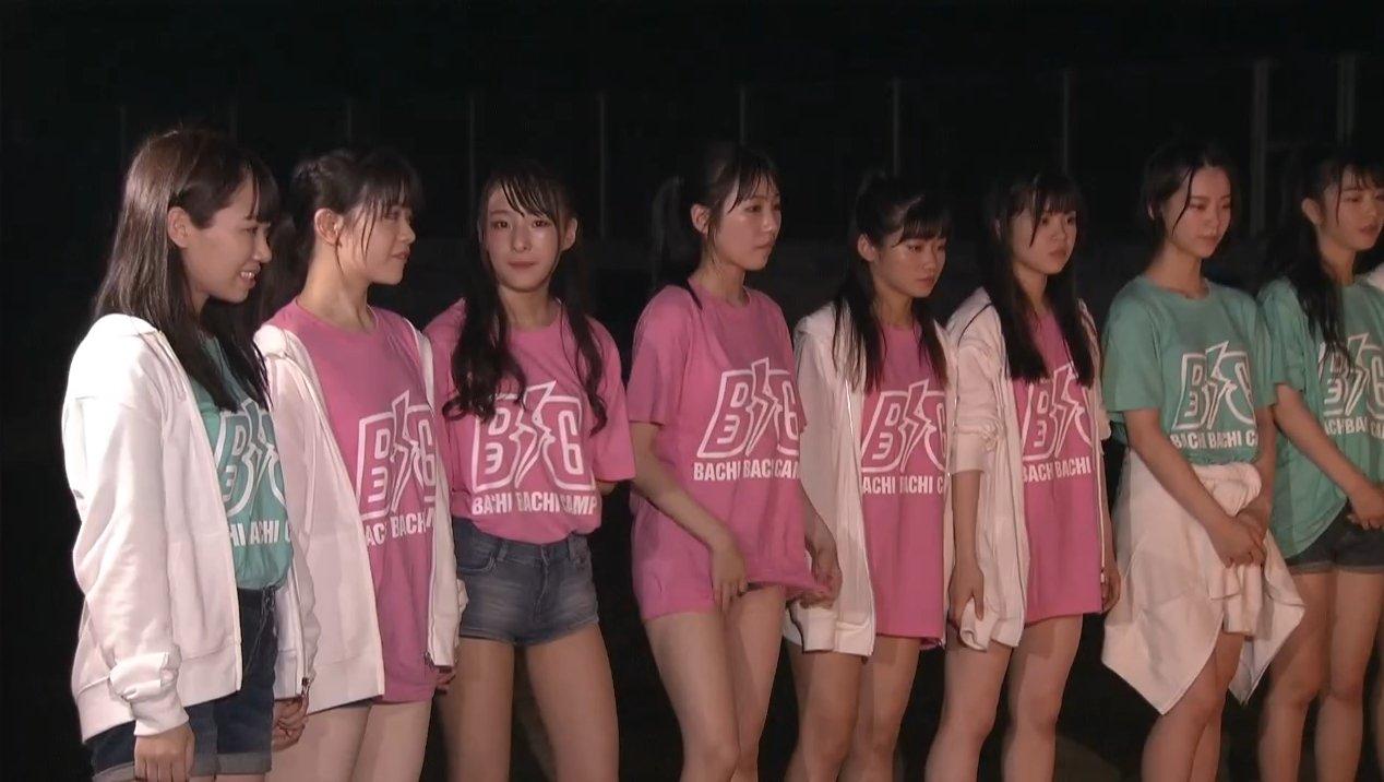2019年8月18日新YNN NMB48 CHANNELで放送された「BACHI BACHI CAMP」の画像-2722