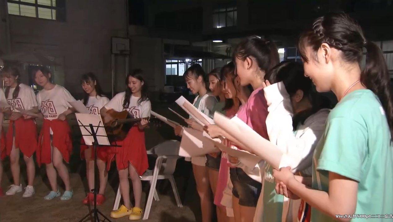 2019年8月18日新YNN NMB48 CHANNELで放送された「BACHI BACHI CAMP」の画像-2738