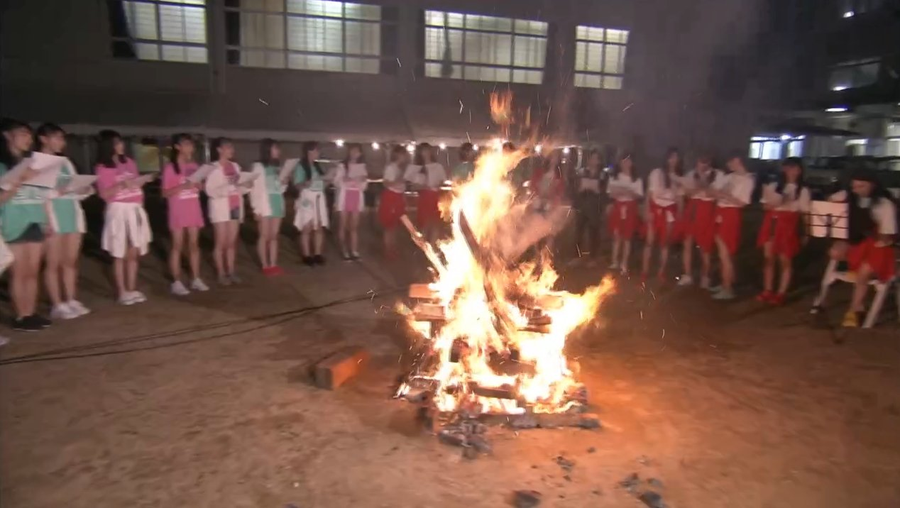 2019年8月18日新YNN NMB48 CHANNELで放送された「BACHI BACHI CAMP」の画像-2746