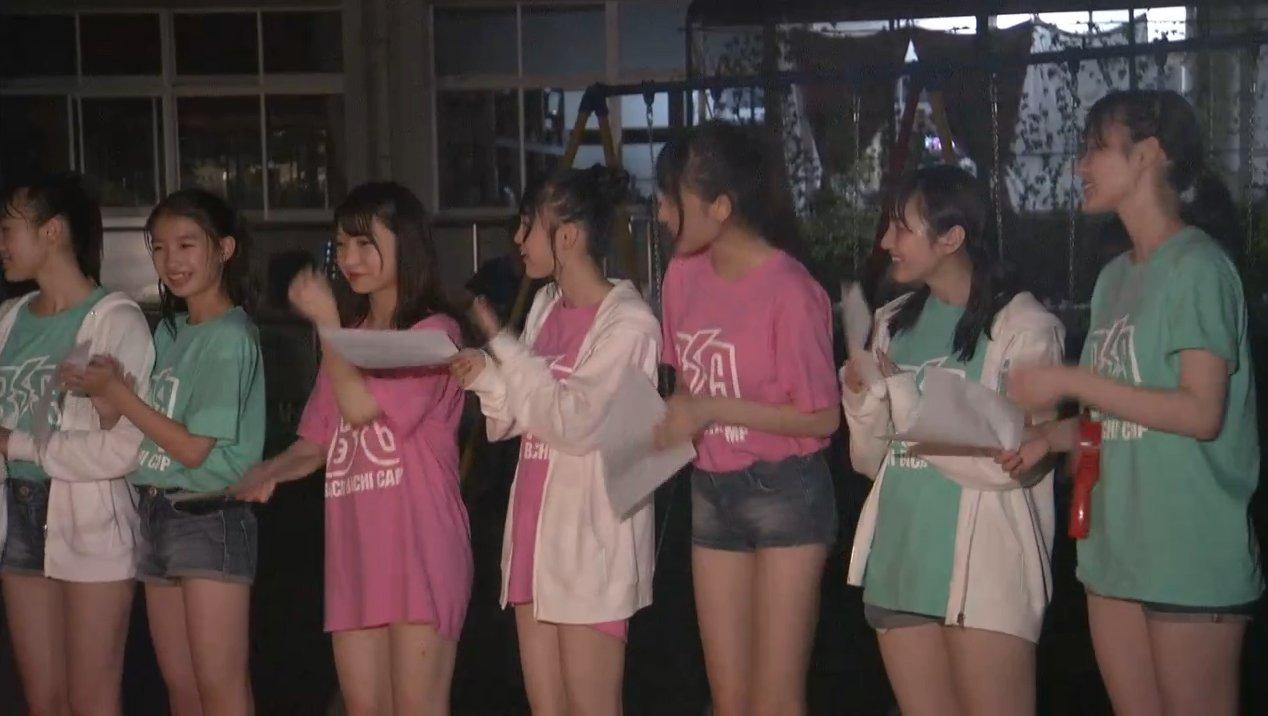 2019年8月18日新YNN NMB48 CHANNELで放送された「BACHI BACHI CAMP」の画像-2750