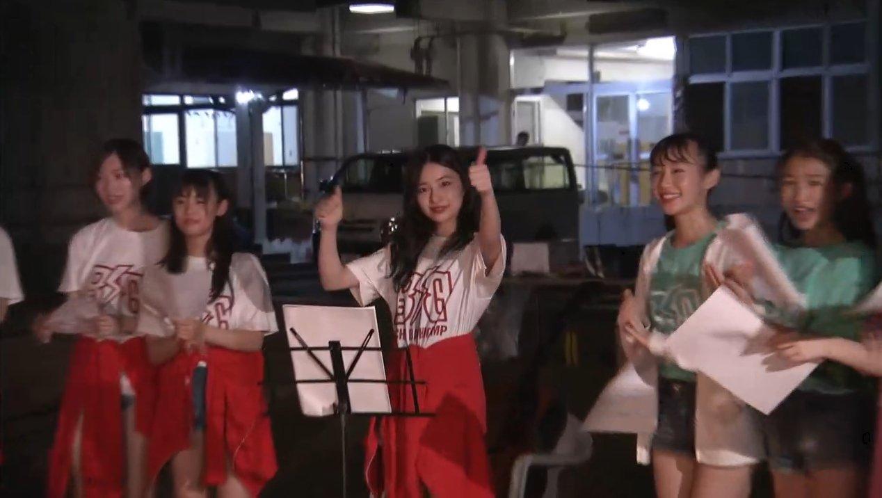 2019年8月18日新YNN NMB48 CHANNELで放送された「BACHI BACHI CAMP」の画像-2752