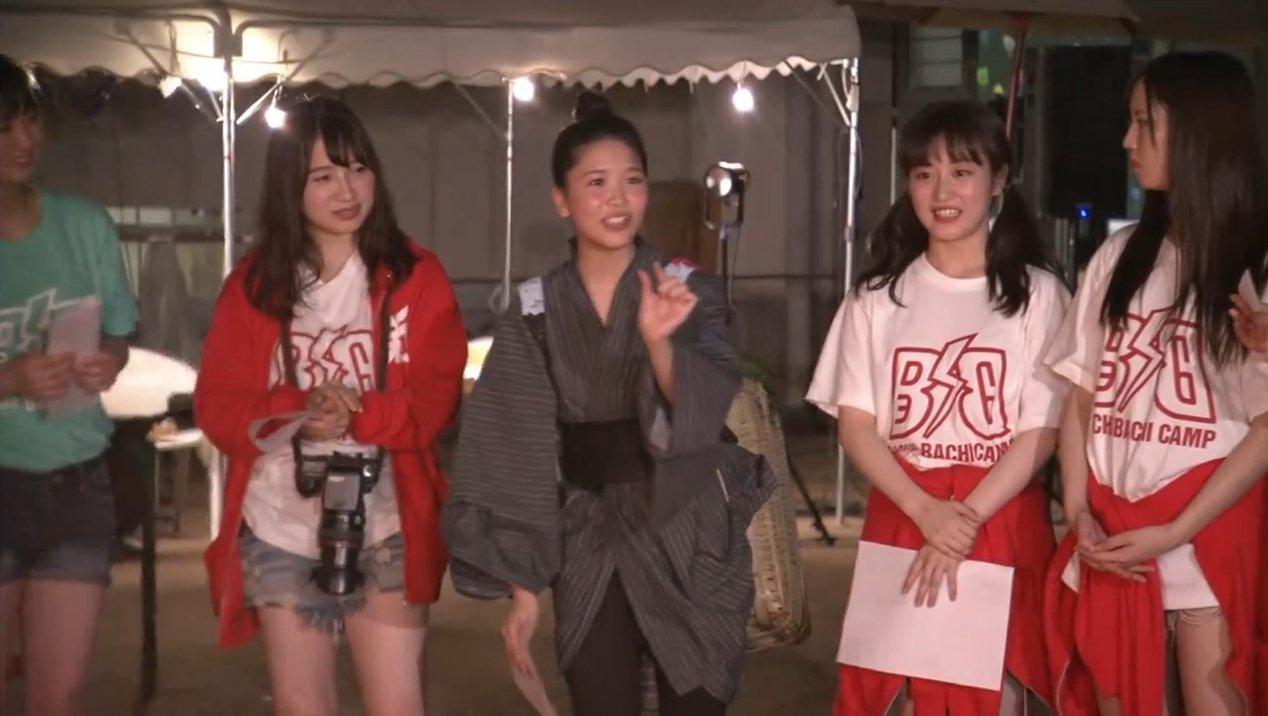 2019年8月18日新YNN NMB48 CHANNELで放送された「BACHI BACHI CAMP」の画像-2766