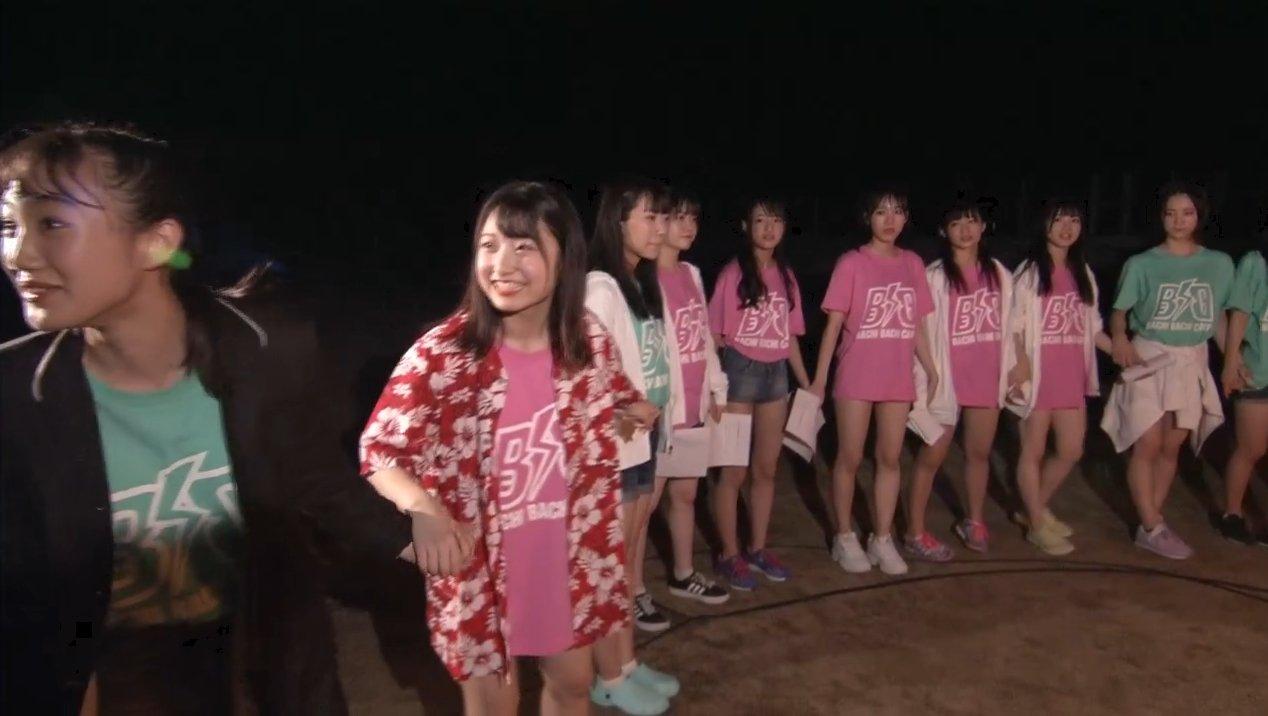 2019年8月18日新YNN NMB48 CHANNELで放送された「BACHI BACHI CAMP」の画像-2805