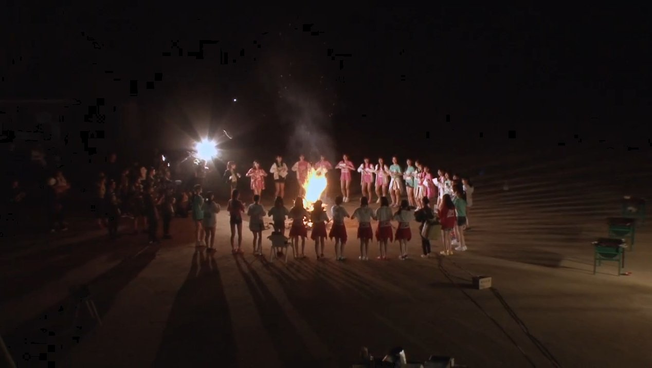 2019年8月18日新YNN NMB48 CHANNELで放送された「BACHI BACHI CAMP」の画像-2813
