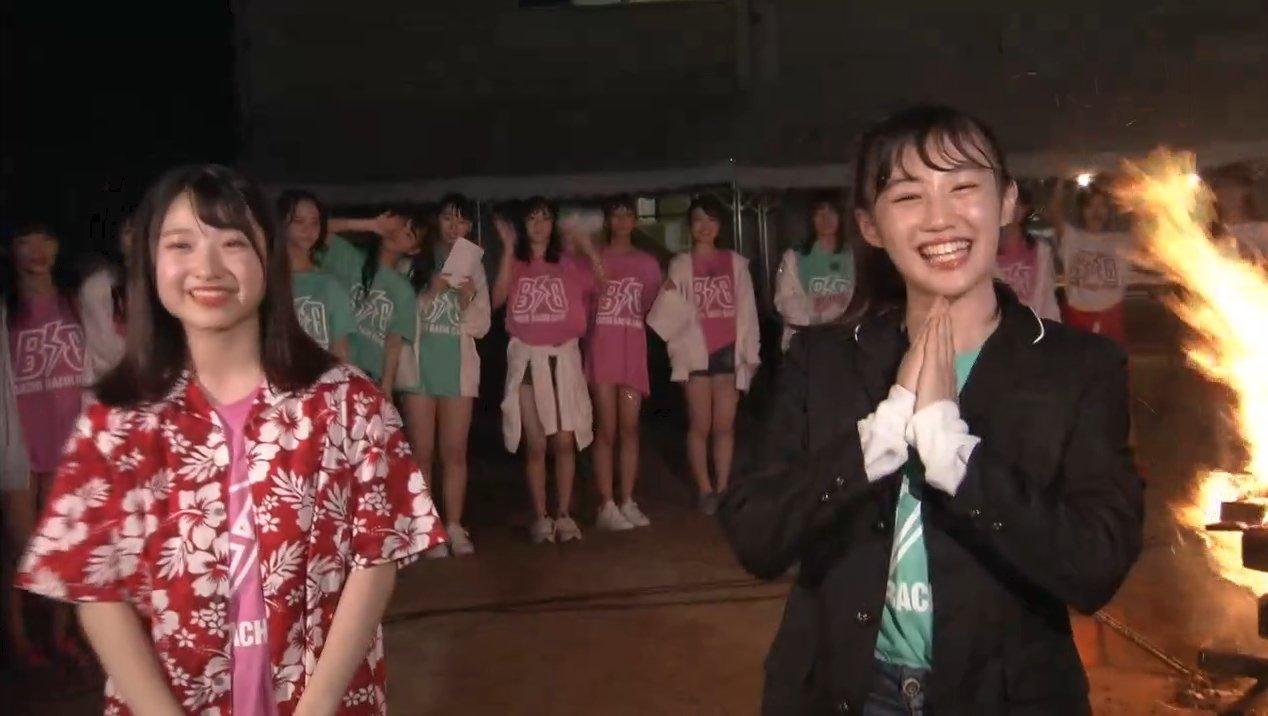 2019年8月18日新YNN NMB48 CHANNELで放送された「BACHI BACHI CAMP」の画像-2819