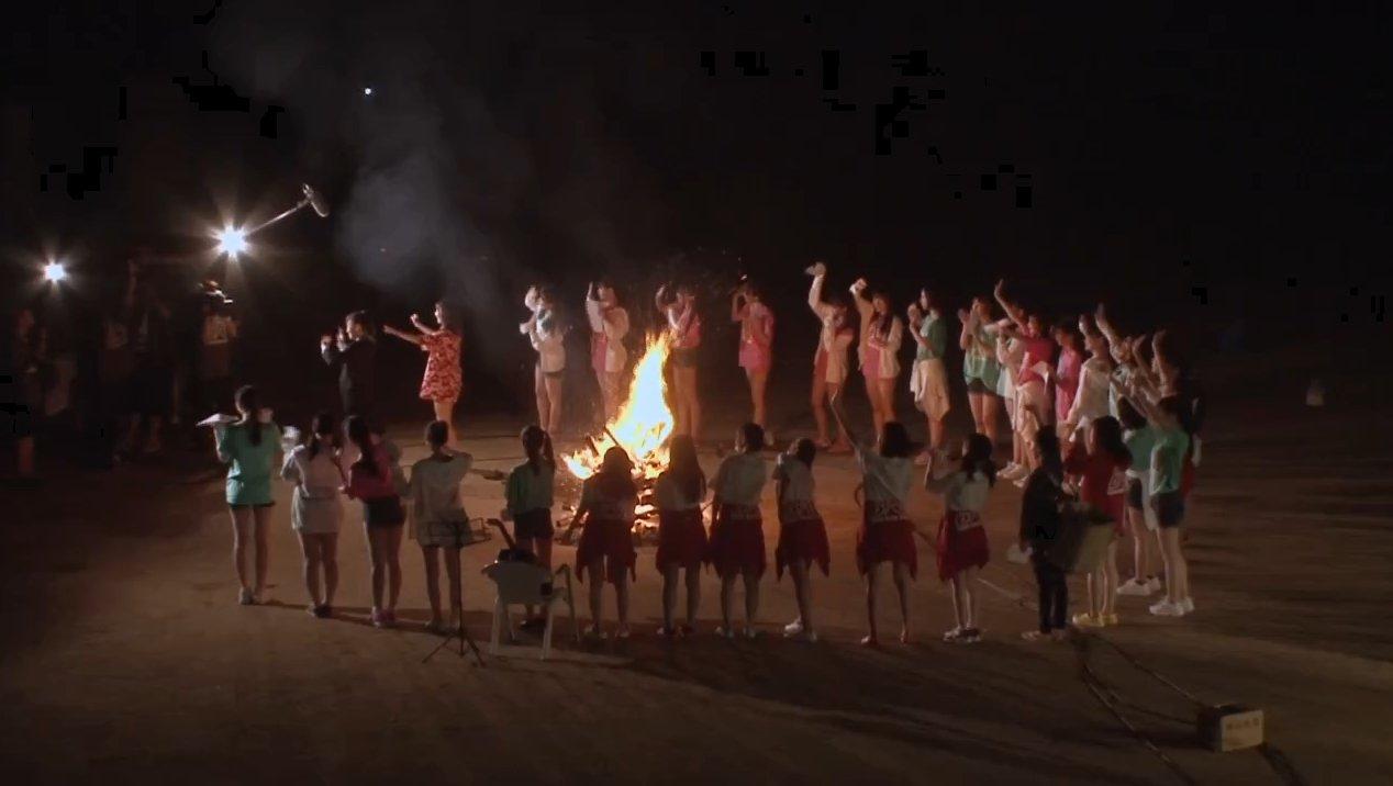 2019年8月18日新YNN NMB48 CHANNELで放送された「BACHI BACHI CAMP」の画像-2827
