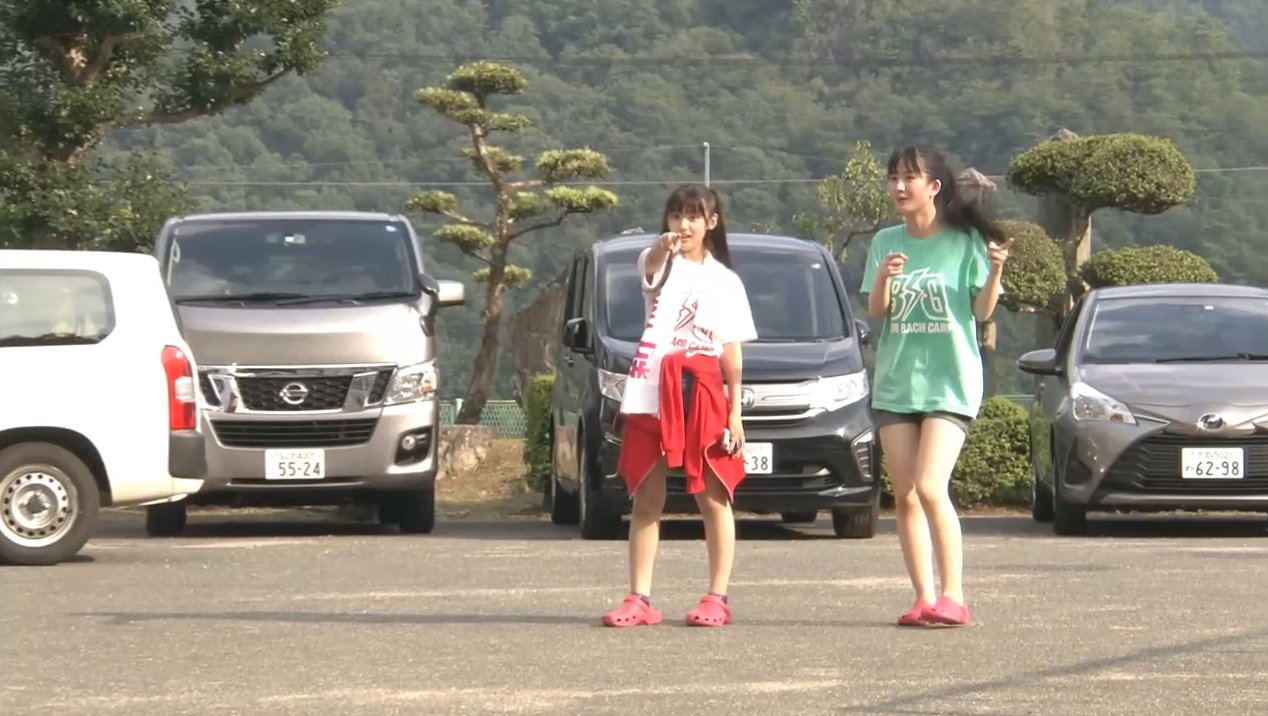2019年8月18日新YNN NMB48 CHANNELで放送された「BACHI BACHI CAMP」の画像-1127