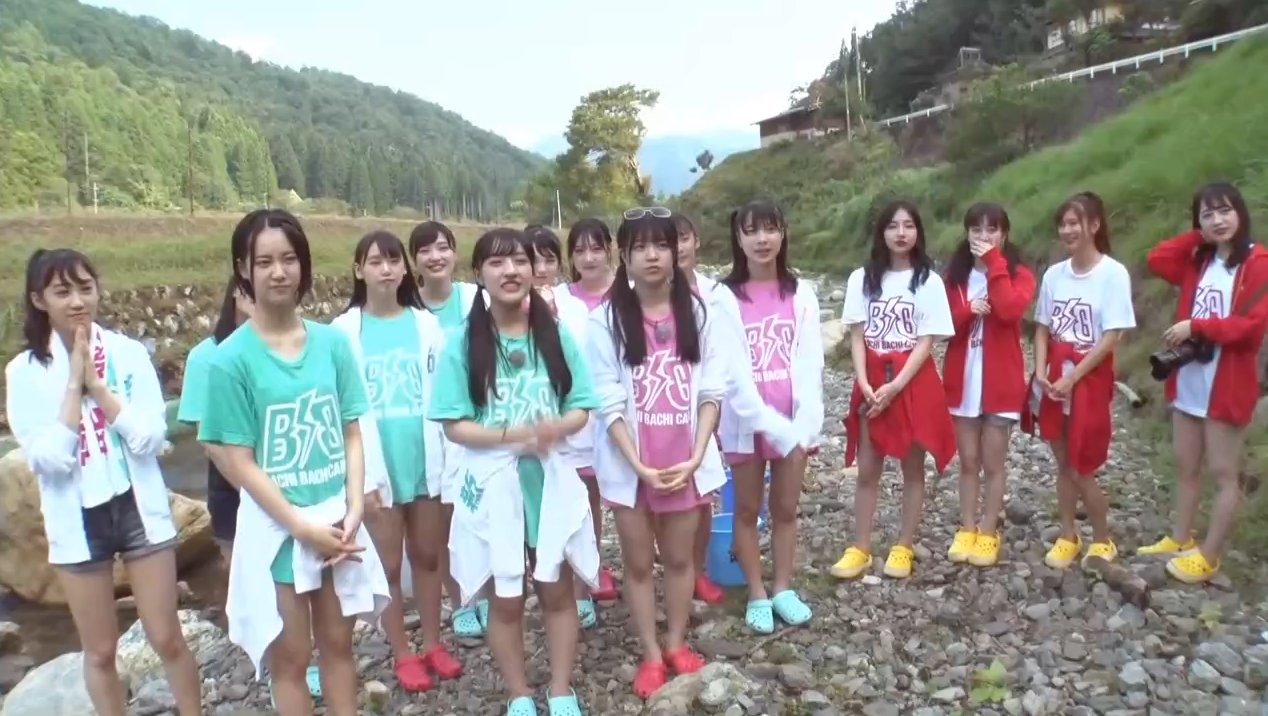 2019年8月18日新YNN NMB48 CHANNELで放送された「BACHI BACHI CAMP」の画像-1149