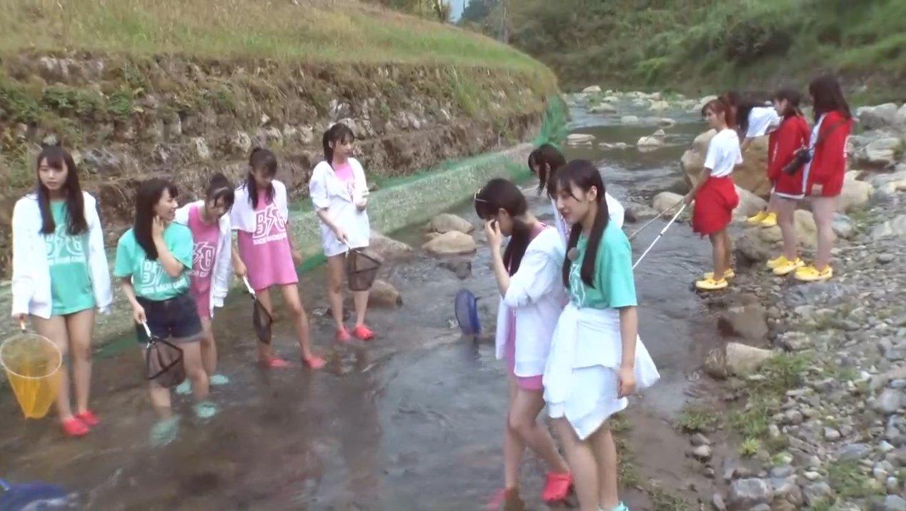 2019年8月18日新YNN NMB48 CHANNELで放送された「BACHI BACHI CAMP」の画像-1196