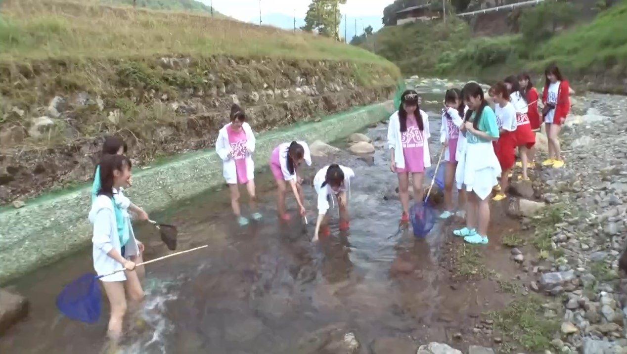 2019年8月18日新YNN NMB48 CHANNELで放送された「BACHI BACHI CAMP」の画像-1253