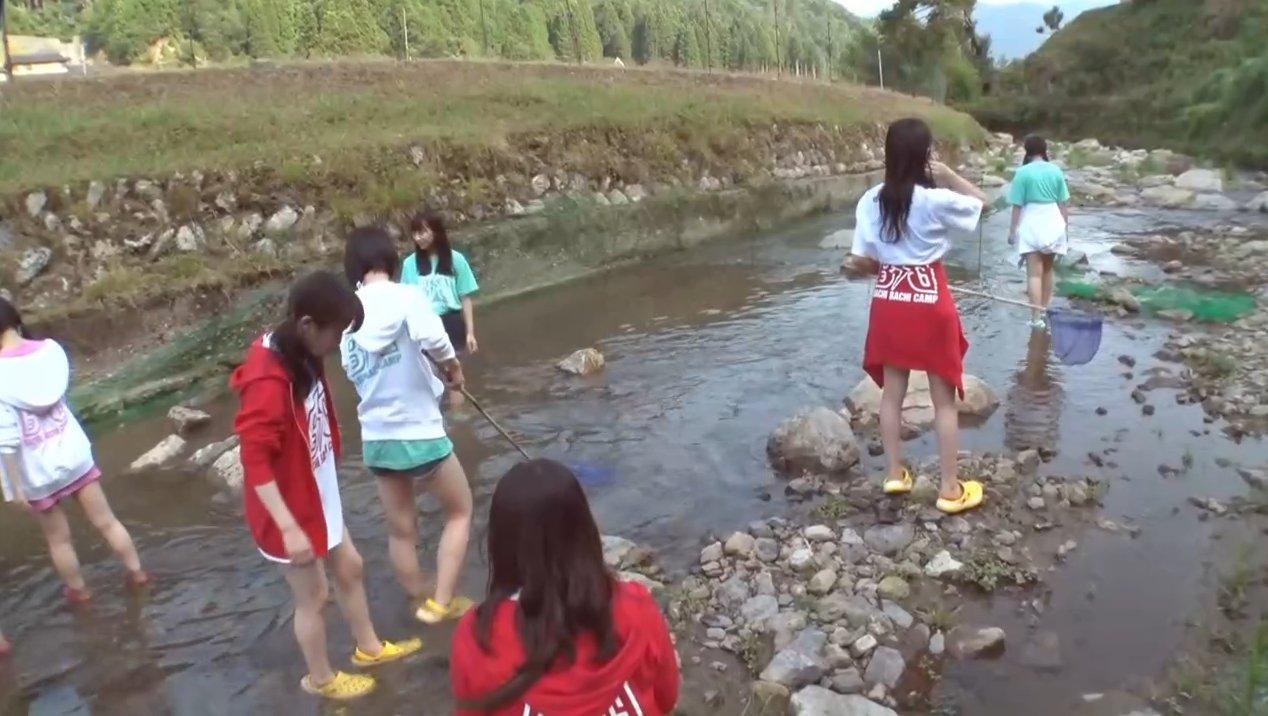 2019年8月18日新YNN NMB48 CHANNELで放送された「BACHI BACHI CAMP」の画像-1304