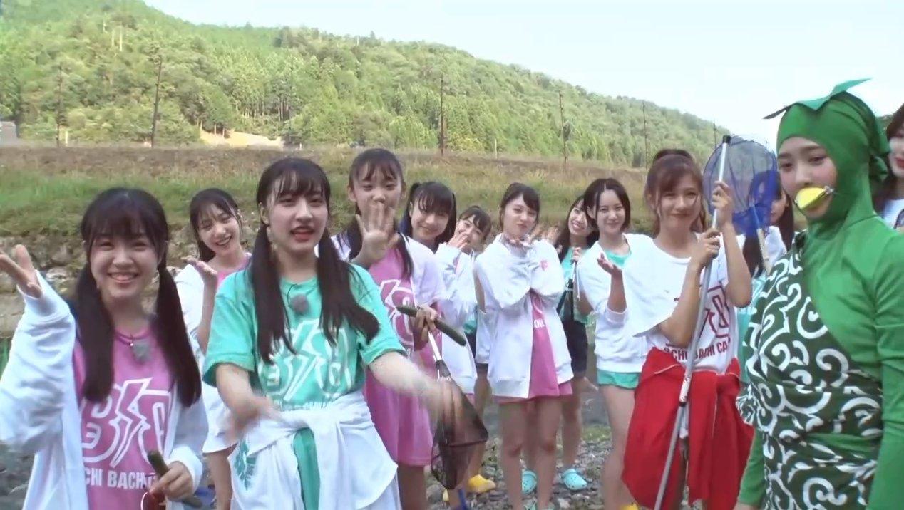 2019年8月18日新YNN NMB48 CHANNELで放送された「BACHI BACHI CAMP」の画像-1361