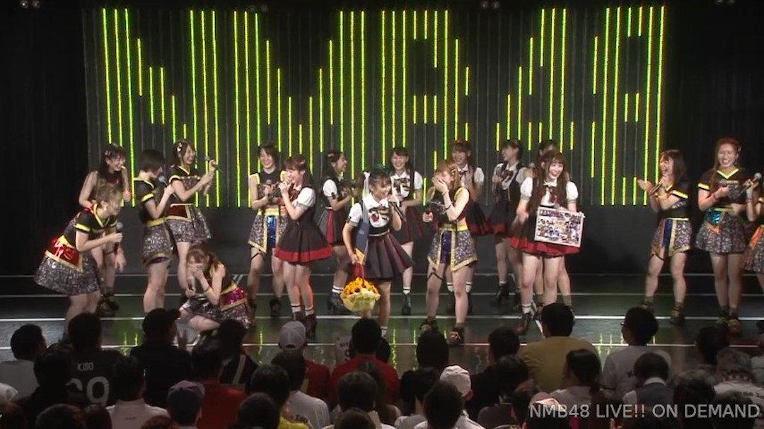 【NMB48】磯佳奈江卒業公演まとめ。今後はShowtitle所属のタレントとして活動【スピーチ全文掲載】