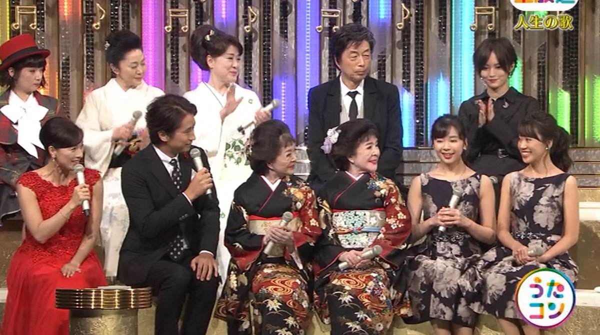 2019年9月16日に放送された「うたこん」に出演した山本彩・白間美瑠・吉田朱里のテレビキャプチャー画像-065