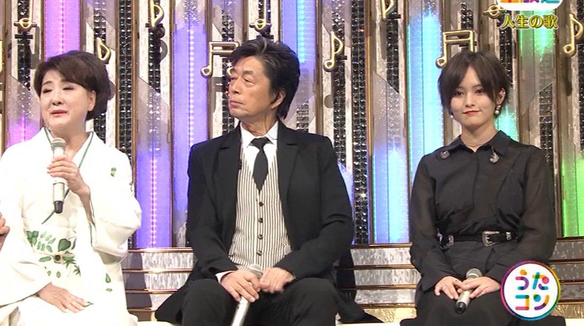 2019年9月16日に放送された「うたこん」に出演した山本彩・白間美瑠・吉田朱里のテレビキャプチャー画像-067