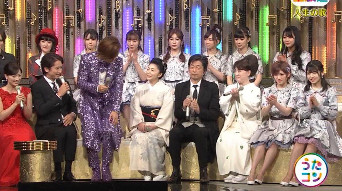 2019年9月16日に放送された「うたこん」に出演した山本彩・白間美瑠・吉田朱里のテレビキャプチャー画像-069