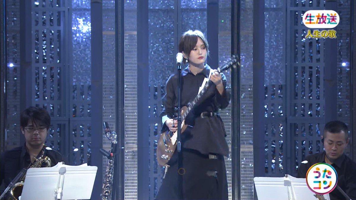 2019年9月16日に放送された「うたこん」に出演した山本彩・白間美瑠・吉田朱里のテレビキャプチャー画像-137