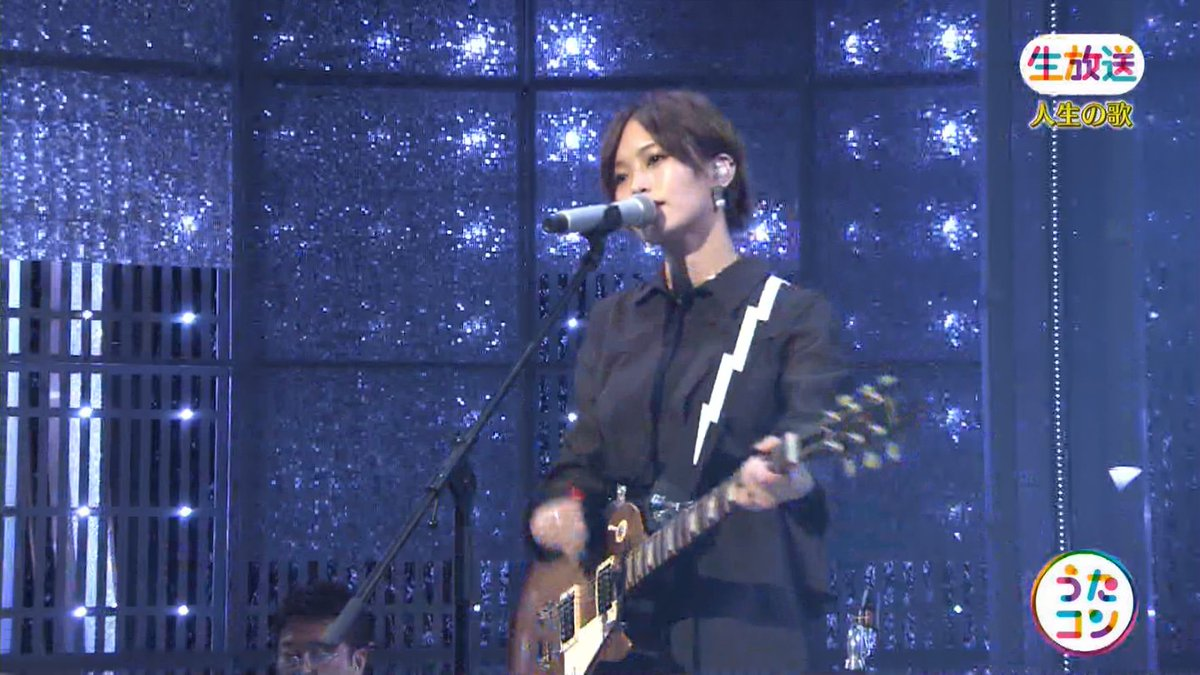 2019年9月16日に放送された「うたこん」に出演した山本彩・白間美瑠・吉田朱里のテレビキャプチャー画像-139