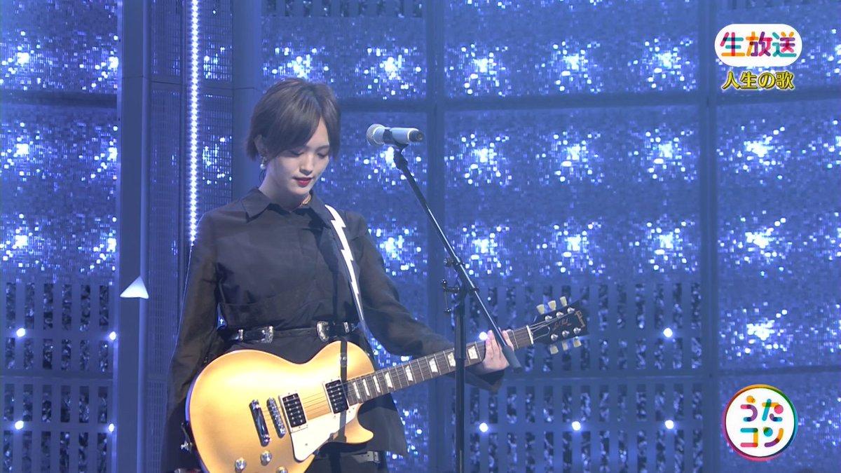 2019年9月16日に放送された「うたこん」に出演した山本彩・白間美瑠・吉田朱里のテレビキャプチャー画像-153