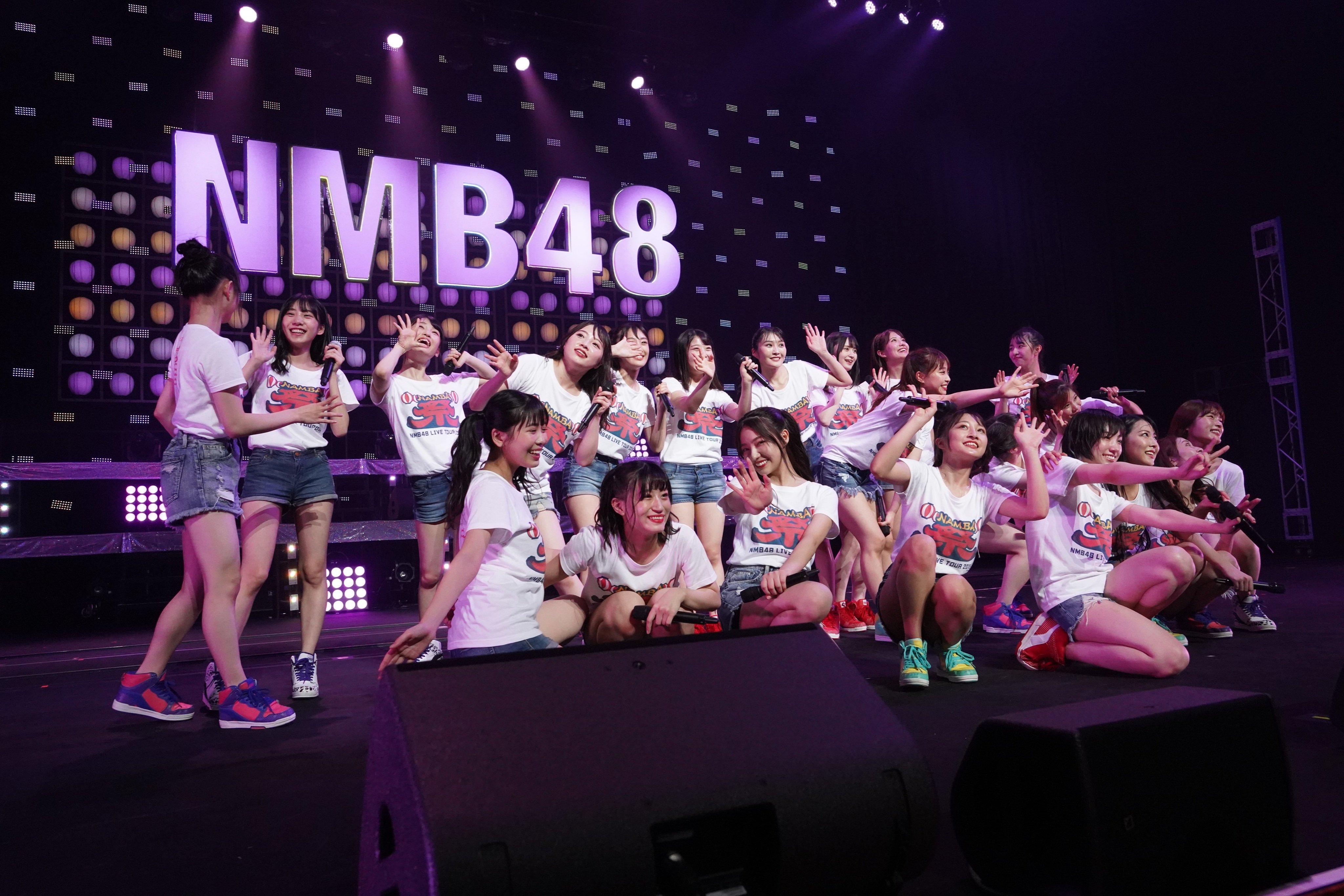 【NMB48】9月9日神戸国際会館「NMB48 LIVE TOUR 2019 ~NAMBA祭~」セットリストと画像・「わるぴぃ」動画など