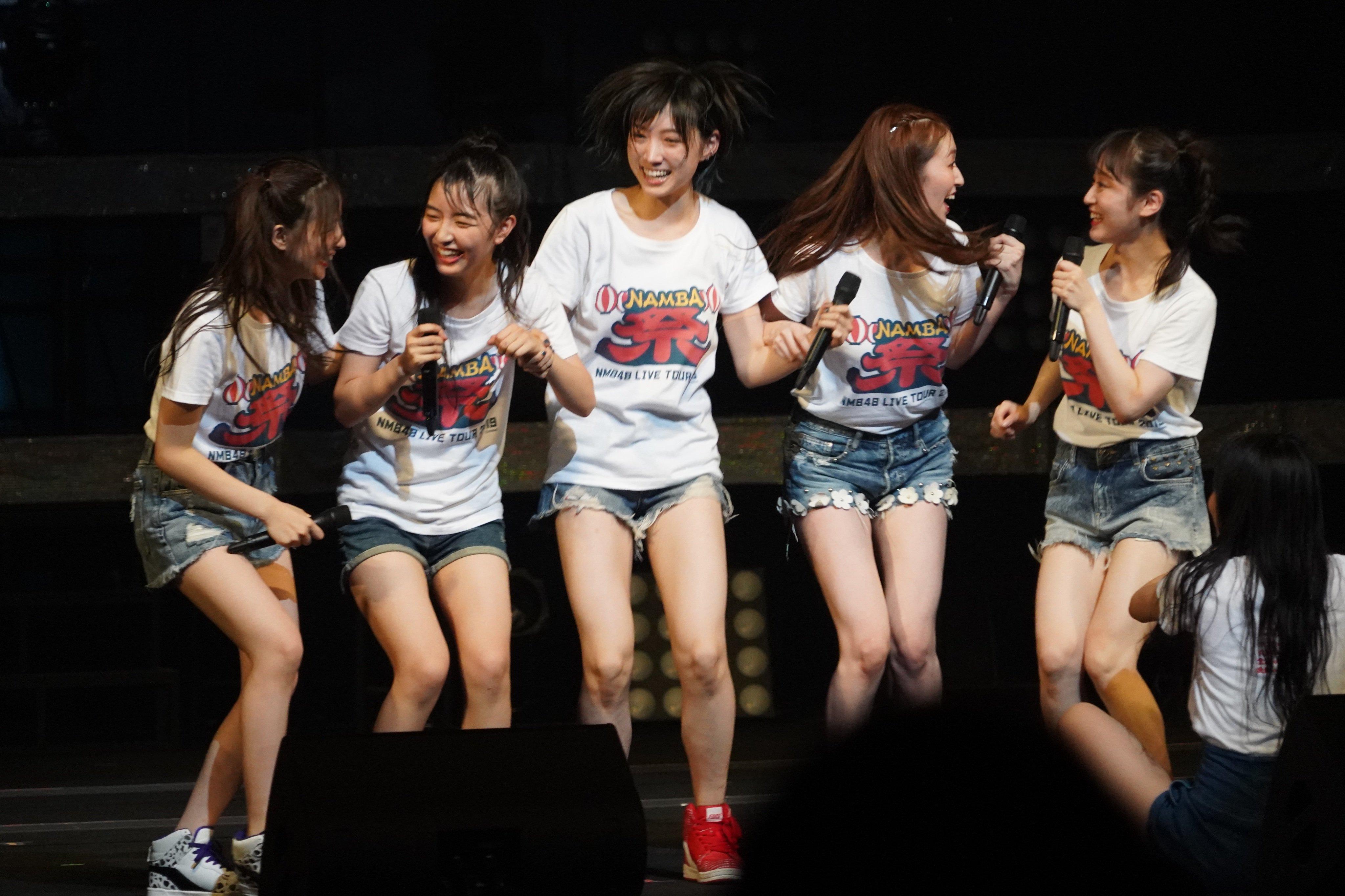 『NMB48 LIVE TOUR 2019 〜NAMBA祭〜』in兵庫・神戸国際会館こくさいホールの画像-006