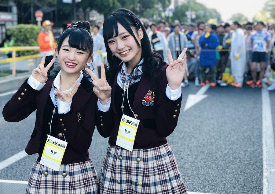 【佐藤亜海/新澤菜央】11/17に開催される第9回神戸マラソンの朝日新聞神戸総局応援リポーターにあみまるとしんしんが就任。
