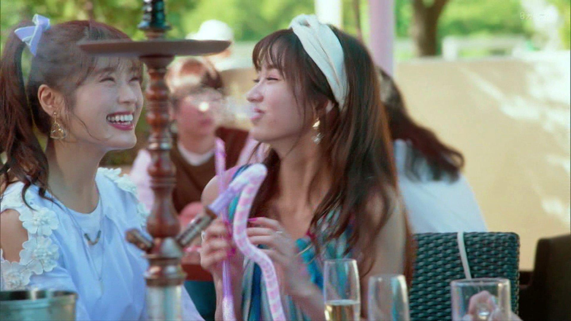 【渋谷凪咲】なぎさ出演、10月24日放送されたドラマ「猪又進と8人の喪女~私の初めてもらってください~#01」の画像