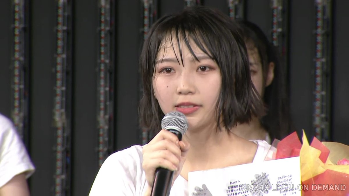【NMB48】前田令子19歳の生誕祭まとめ。チーム昇格とシアターの女神を目指して【手紙・スピーチ全文掲載】