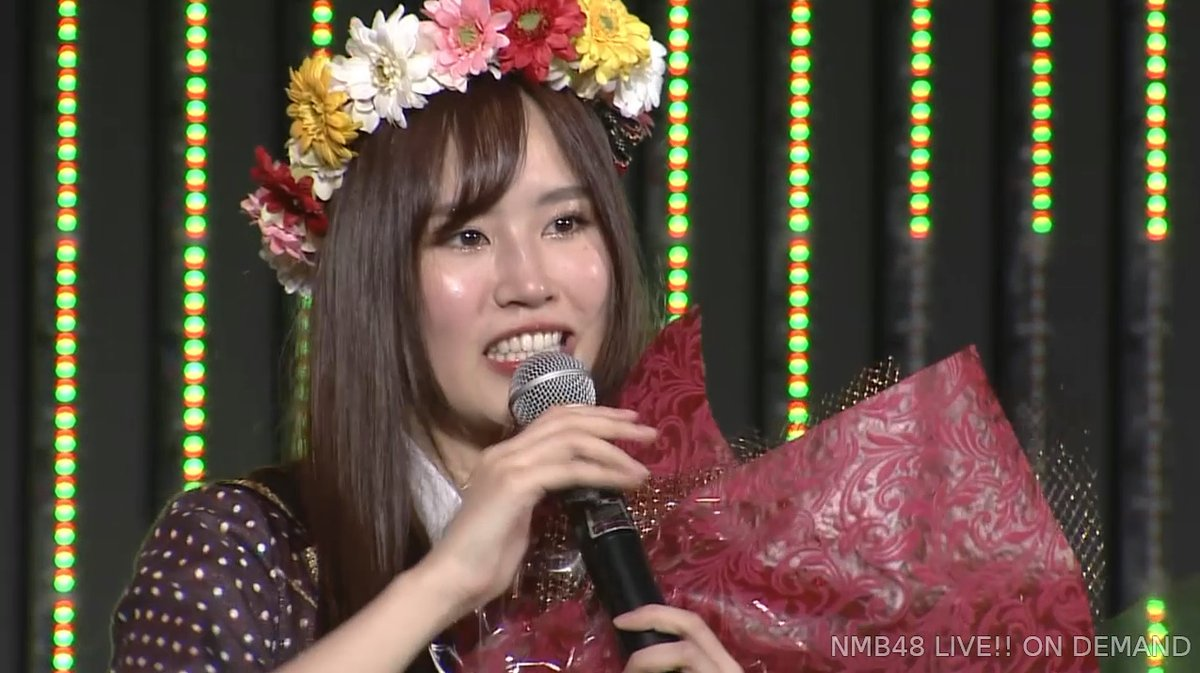 【NMB48】古賀成美卒業公演まとめ。女優という夢に向かって勝ち進んで行く【スピーチ全文掲載】