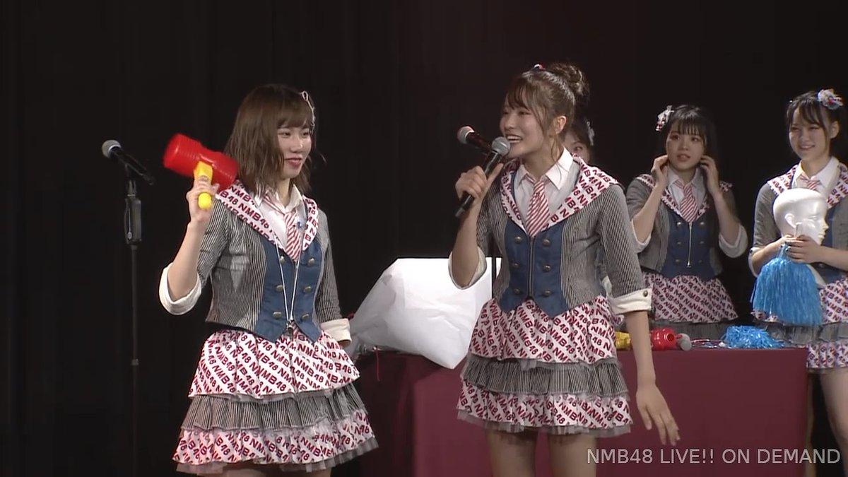 【NMB48】12/8「難波愛〜今、小嶋が思うこと〜」夜公演・なんば女学院お笑い部「NMB48モノボケ」の回答