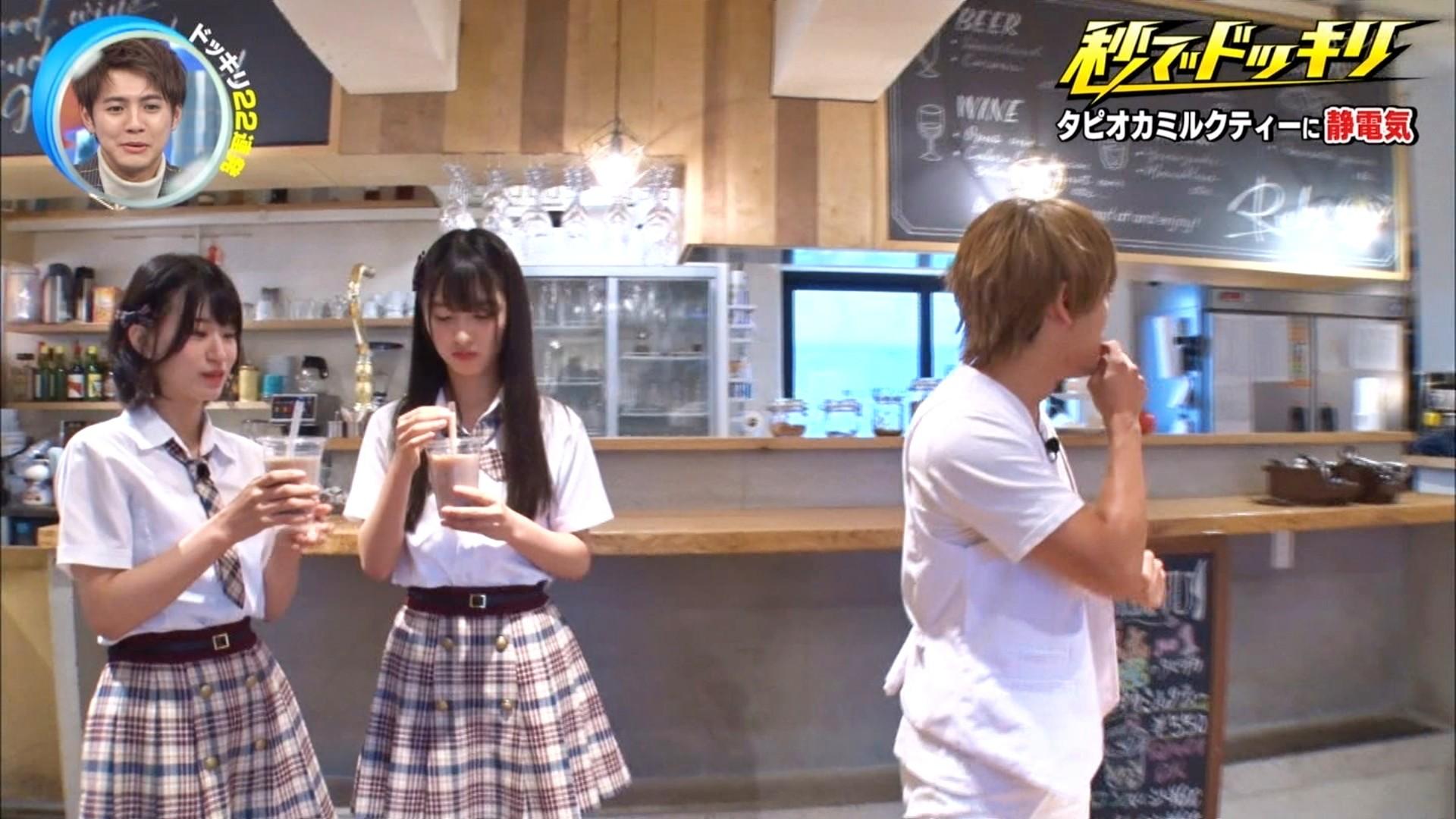 2019年11月30日にフジテレビ系列でほうそうされた「芸能人が本気で考えた!ドッキリGP」に出演したNMB48上西怜・大田莉央奈の画像-014