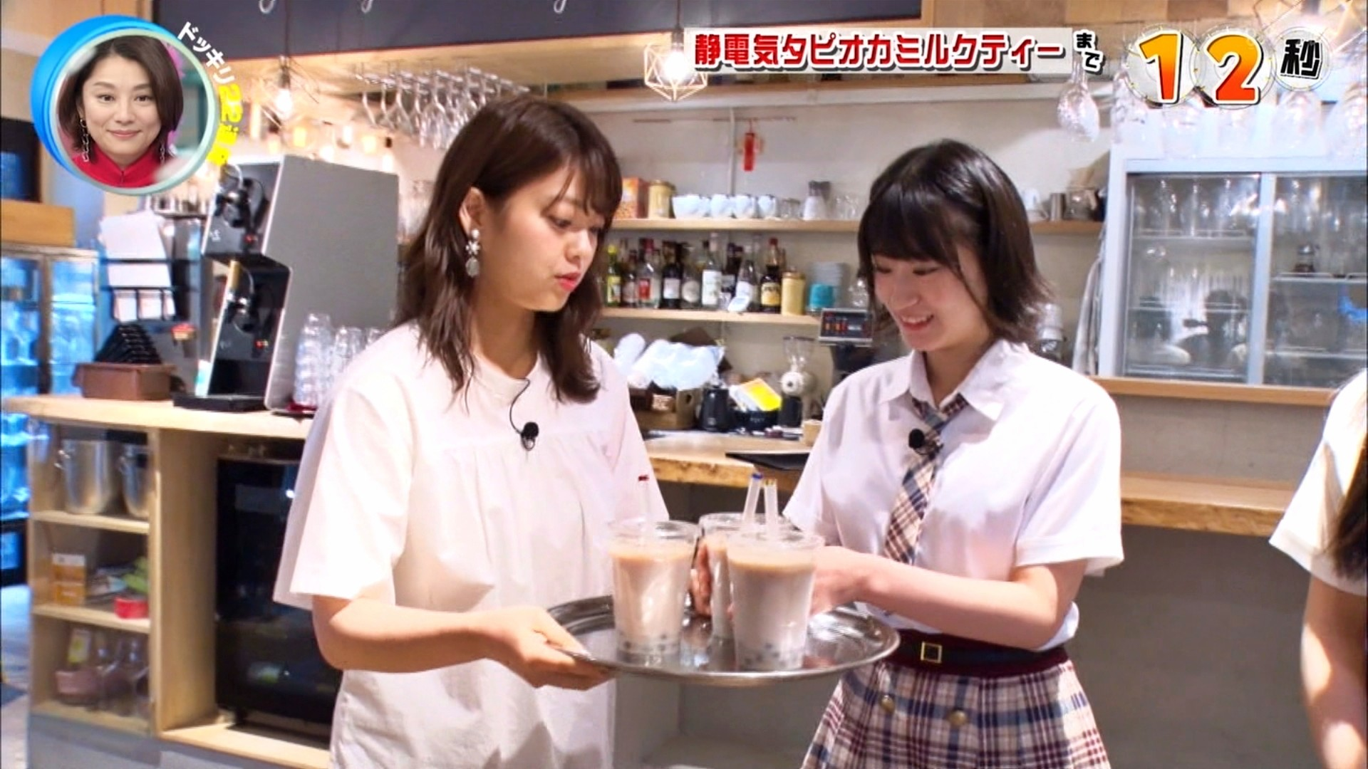 2019年11月30日にフジテレビ系列でほうそうされた「芸能人が本気で考えた!ドッキリGP」に出演したNMB48上西怜・大田莉央奈の画像-002