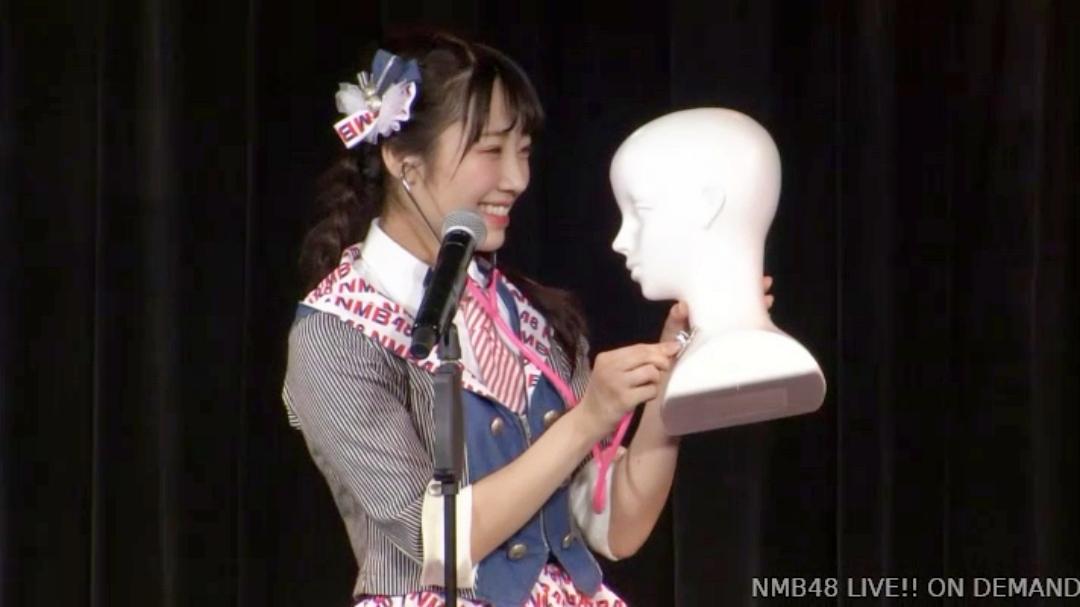 【NMB48】1/21「難波愛〜今、小嶋が思うこと〜」公演・なんば女学院お笑い部「NMB48モノボケ」回答