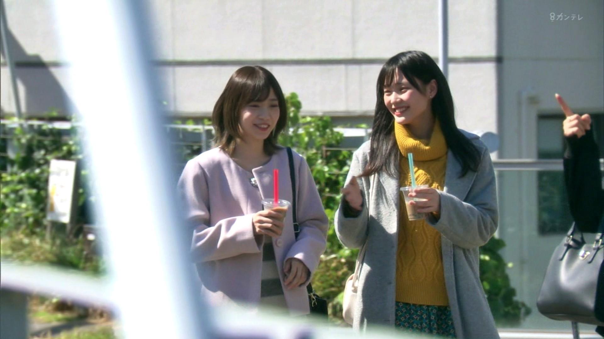 2020年1月13日に関西テレビで放送された「ミナミの帝王」に出演したNMB48石塚朱莉・佐藤亜海の画像-022