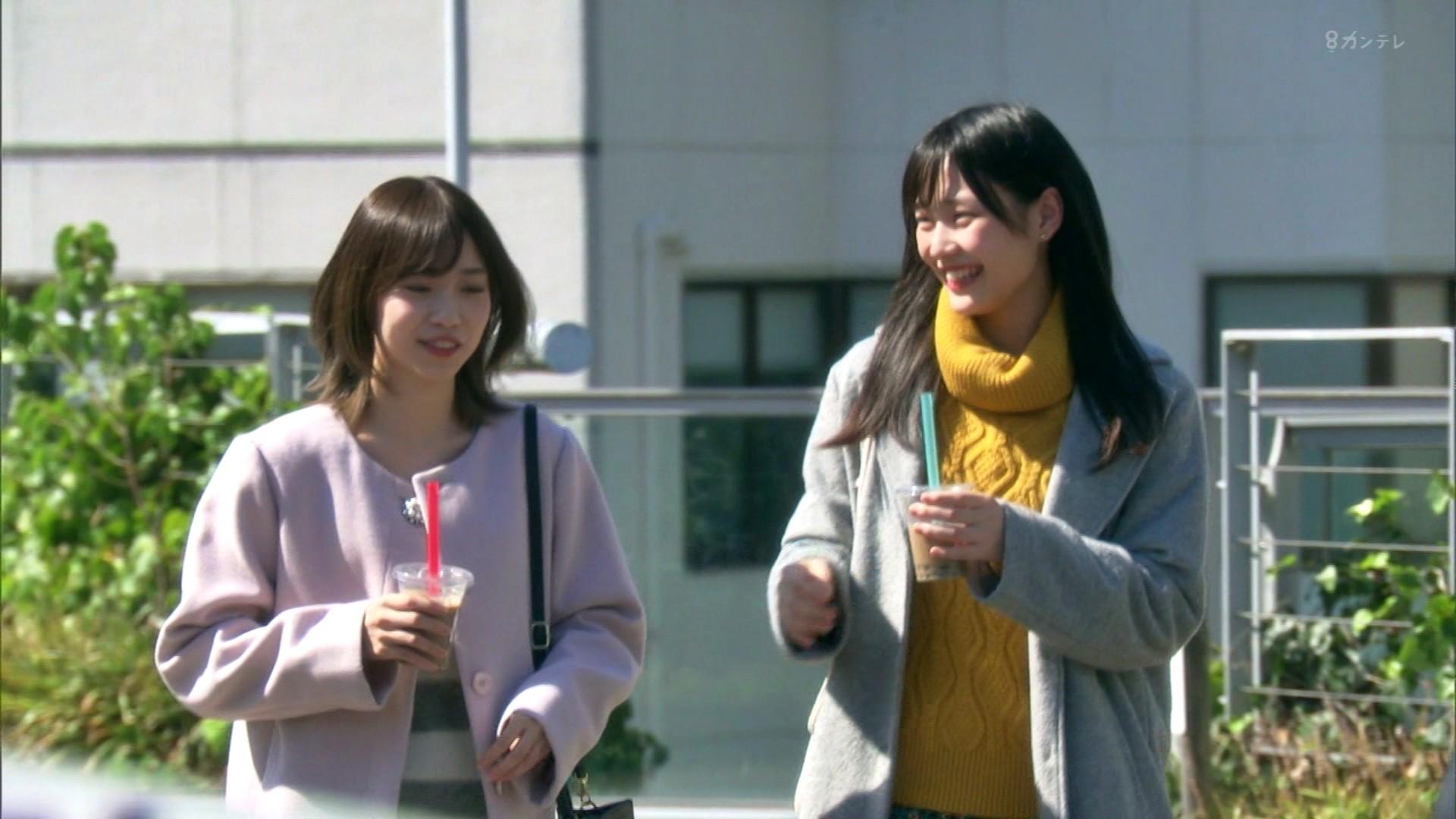 2020年1月13日に関西テレビで放送された「ミナミの帝王」に出演したNMB48石塚朱莉・佐藤亜海の画像-024