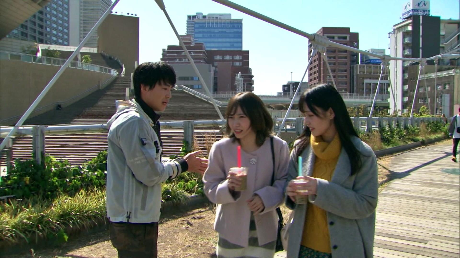 2020年1月13日に関西テレビで放送された「ミナミの帝王」に出演したNMB48石塚朱莉・佐藤亜海の画像-047