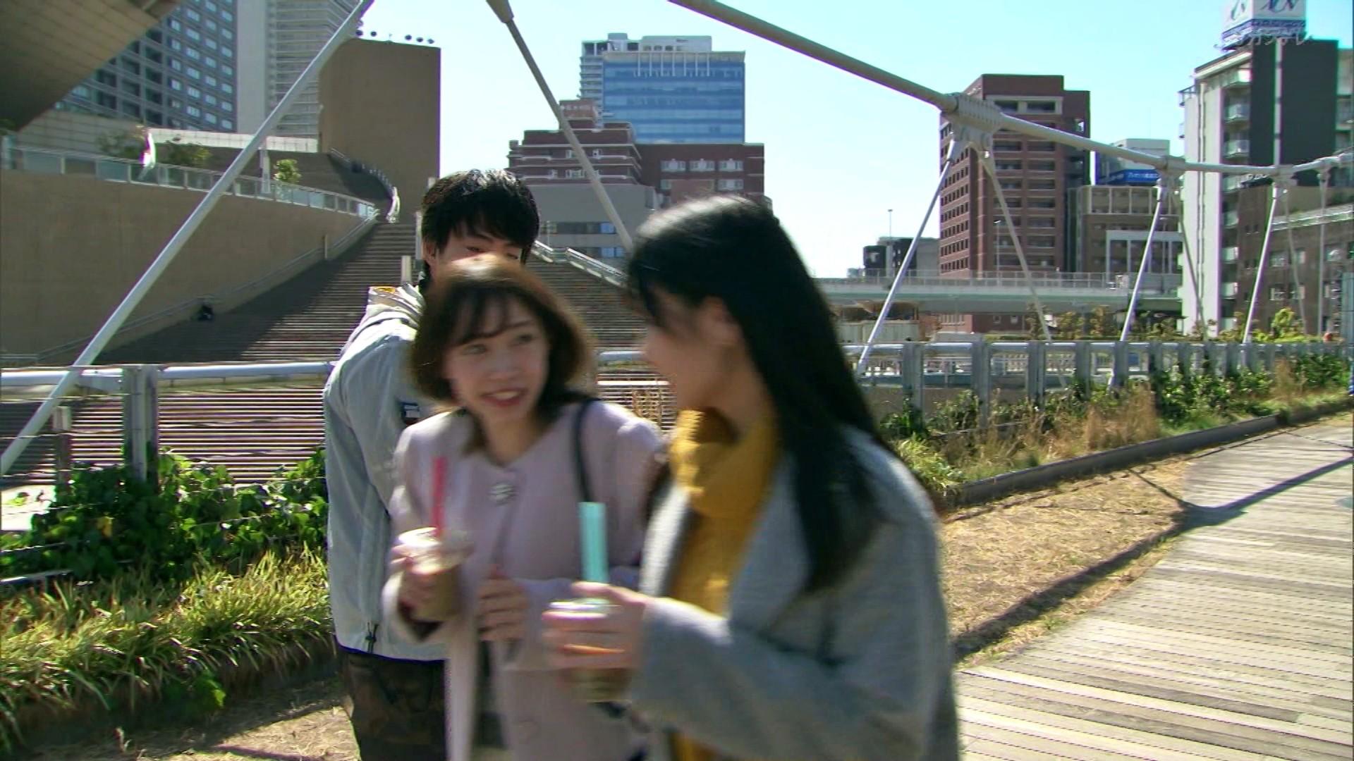 2020年1月13日に関西テレビで放送された「ミナミの帝王」に出演したNMB48石塚朱莉・佐藤亜海の画像-049