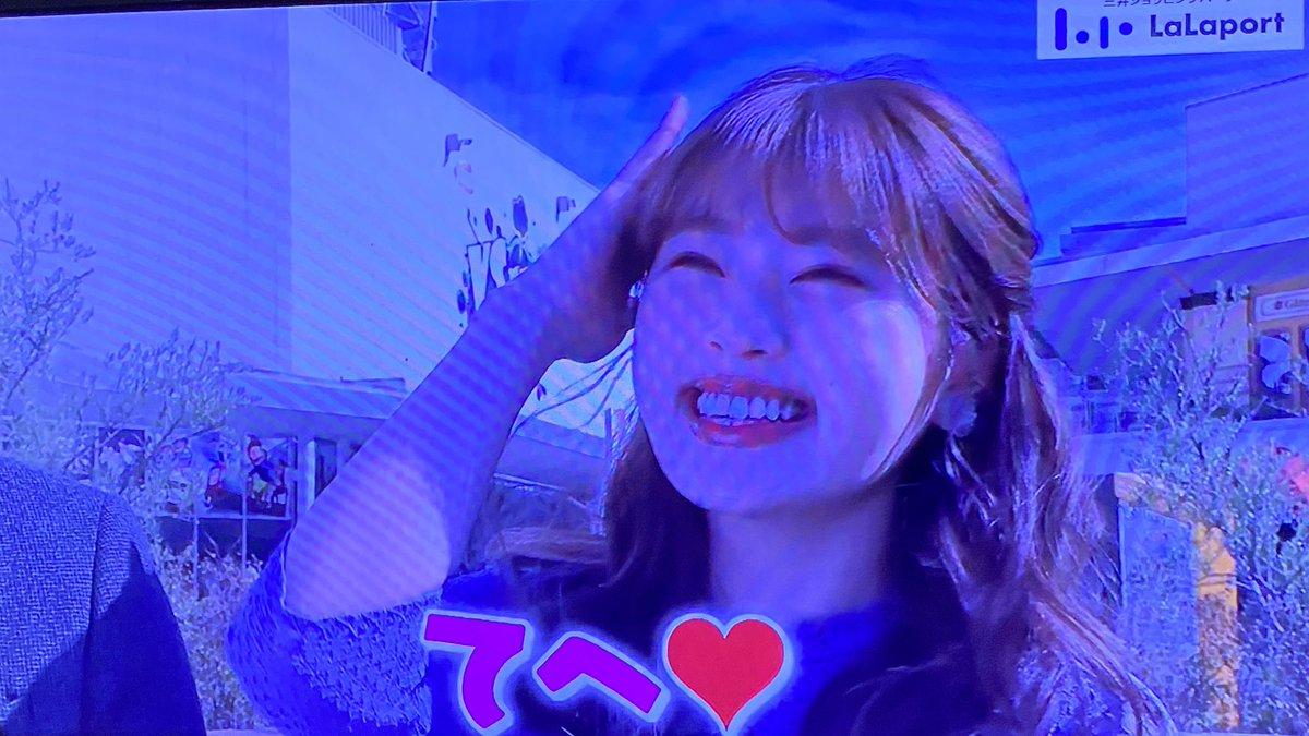 【渋谷凪咲】なぎさが「ちちんぷいぷい×ららぽーと」のキャンペーンCMに出演
